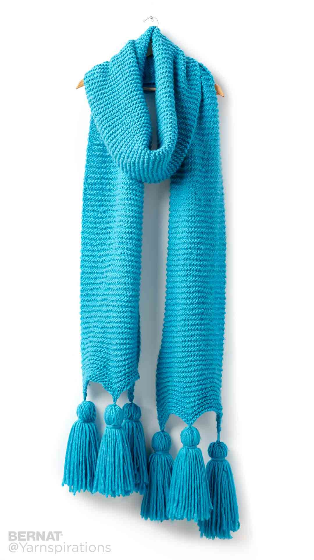Keeping It Simple Knit Super Scarf