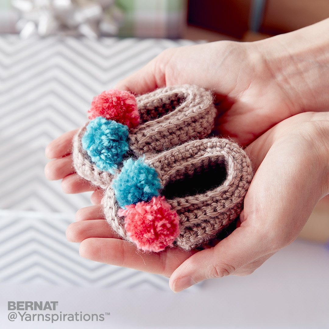 Wee Crochet Moccasins
