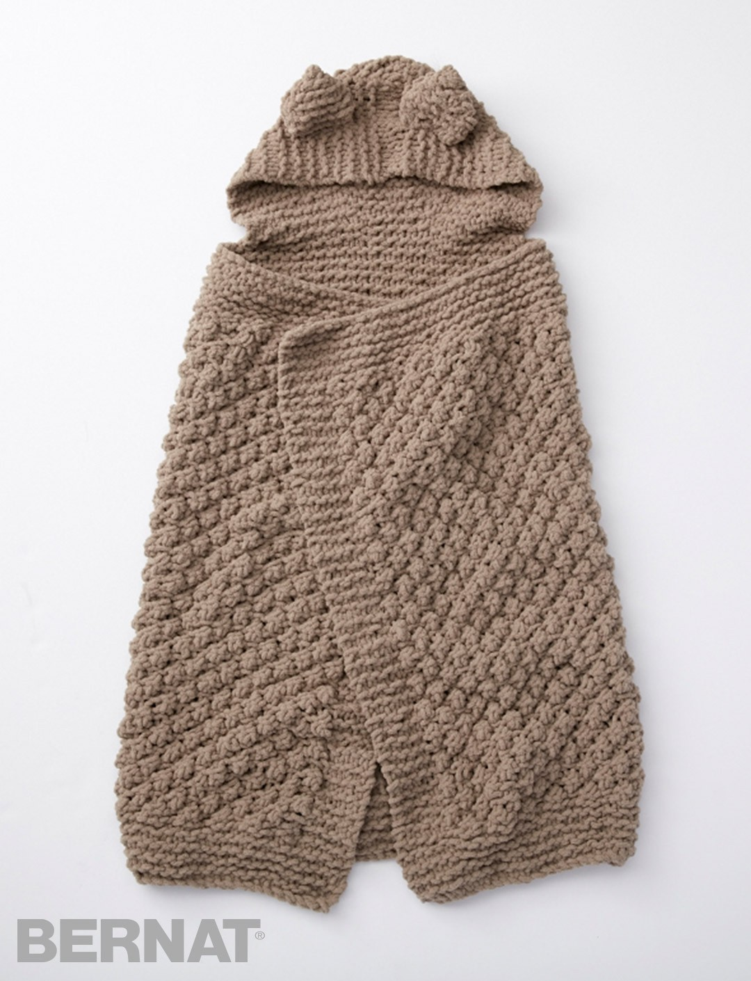 Bernat Knitting Patterns Free : Bernat Squirreled Away Blanket, Knit Pattern Yarnspirations