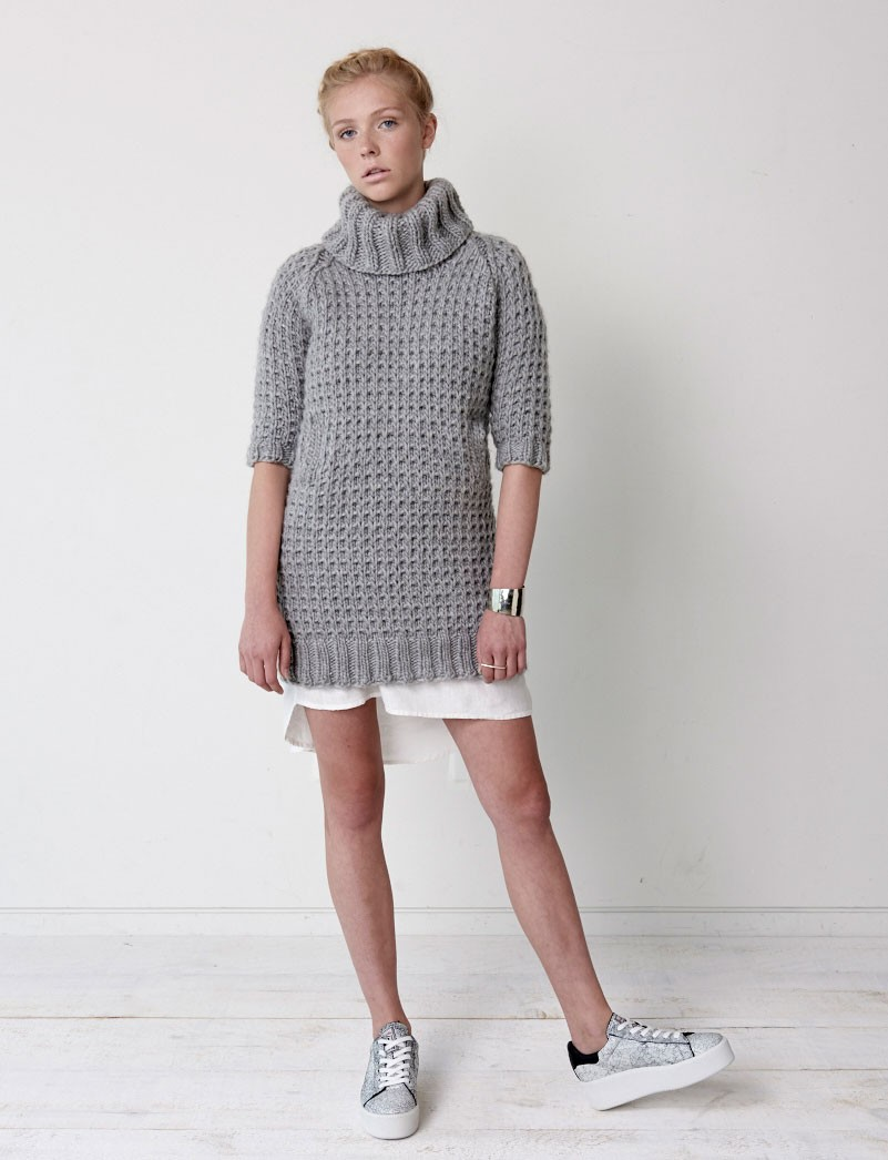 Slouchy Sweater Dress