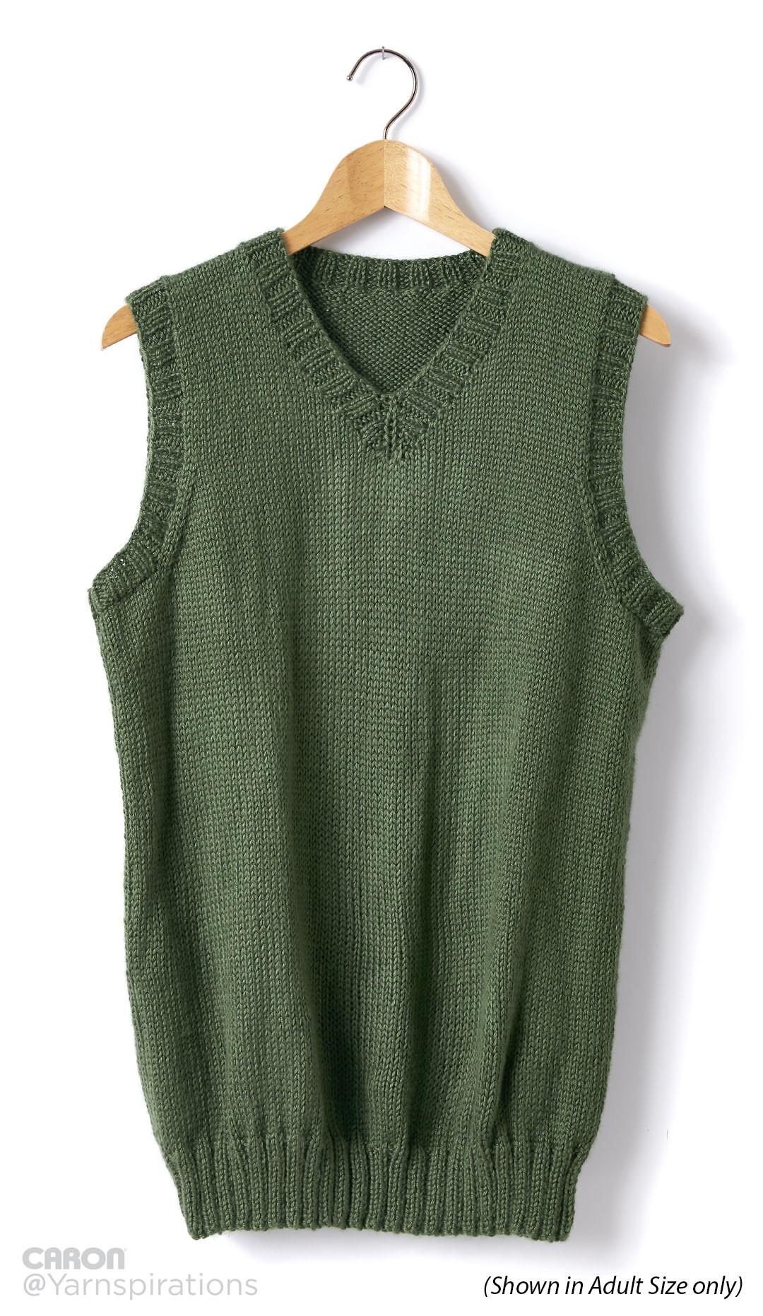 Child's Knit V-Neck Vest