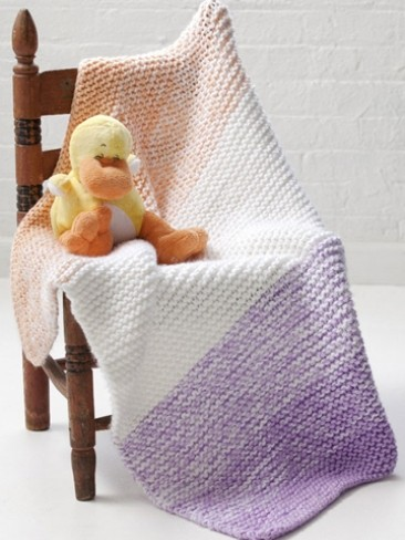 Soft 'n Simple Baby Blanket