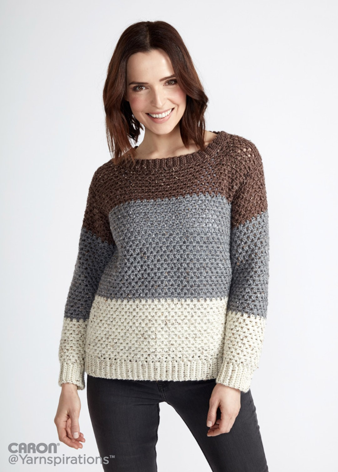 Stepping Stones Crochet Pullover