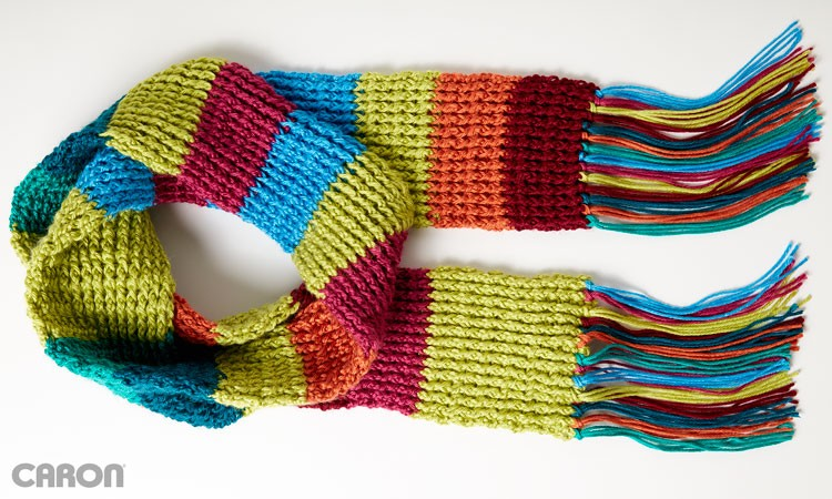 Mood Scarf - Rib Crochet