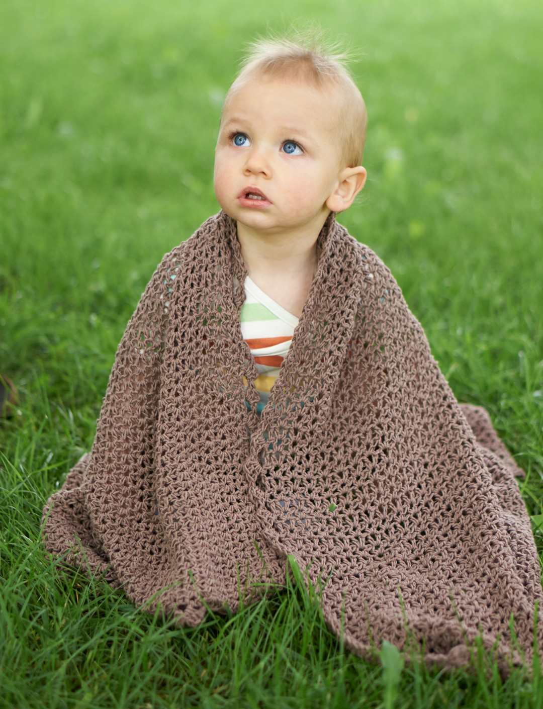 Summer Breeze Baby Blanket