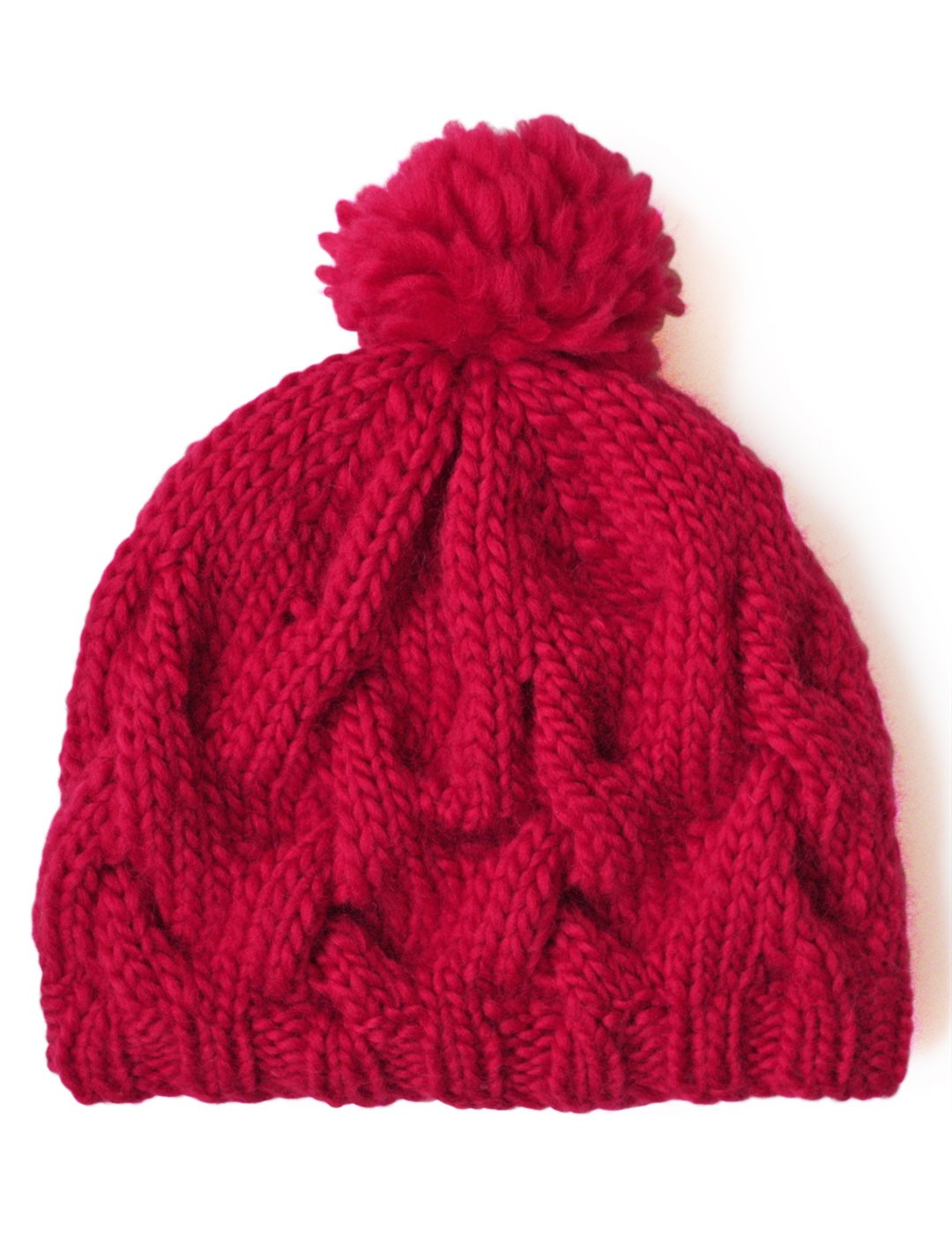 Patons Free Knitting Patterns : Patons Cushy Cable Hat, Knit Pattern Yarnspirations