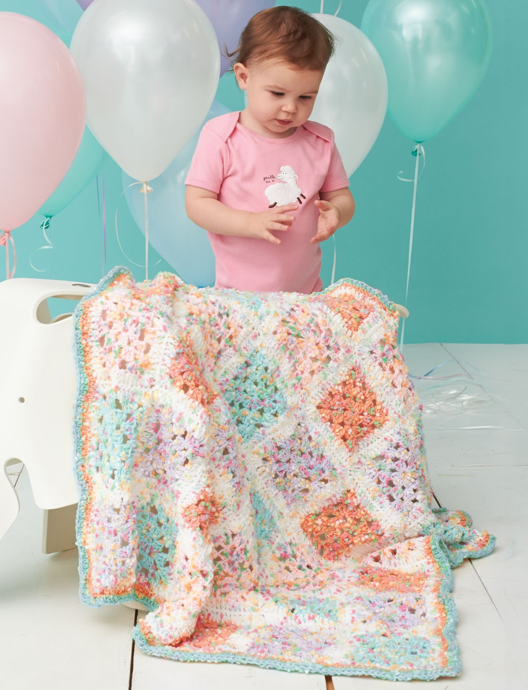 Dotty Blocks Blanket