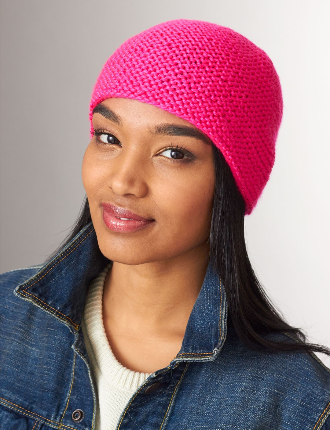 Simply Garter Stitch Hat