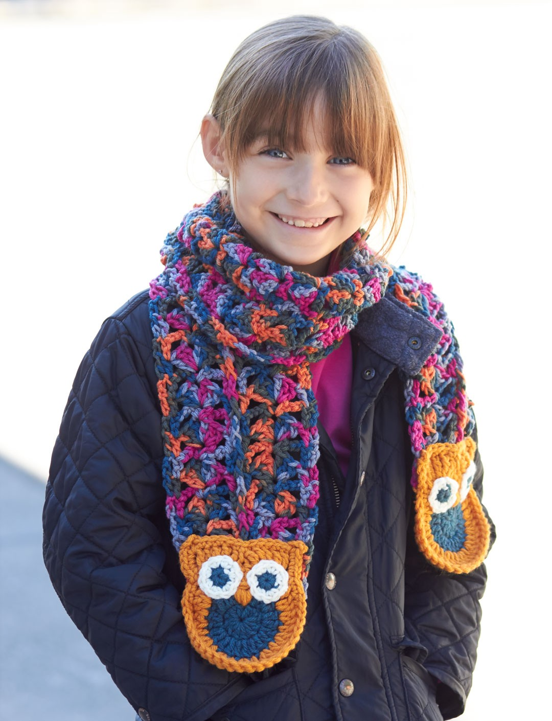Give a Hoot! Scarf