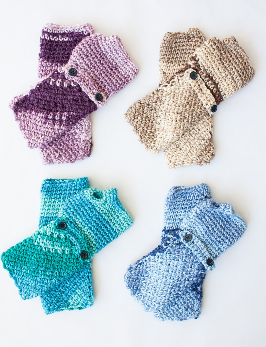 Fingerless gloves canada - Cozy Posy Fingerless Gloves