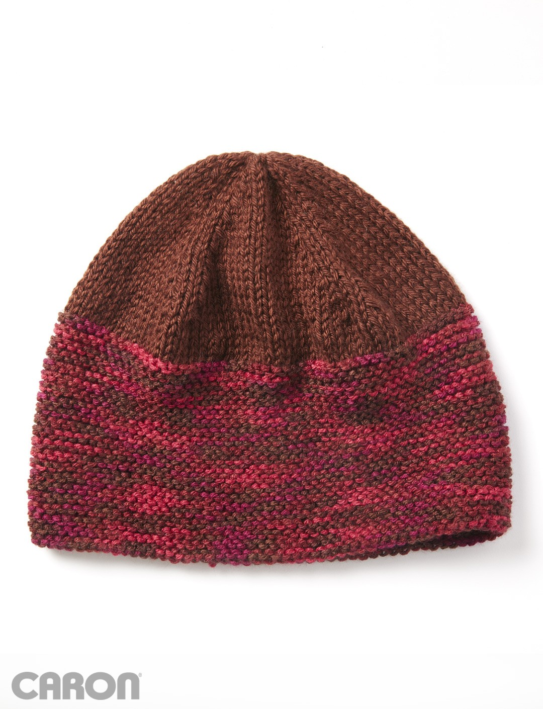 Caron Simply Soft Knitting Patterns : Caron Great Beginnings Hat, Knit Pattern Yarnspirations