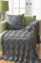 Great Grey Texture Blanket