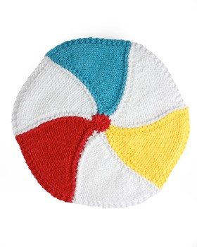 Beachball Dishcloth