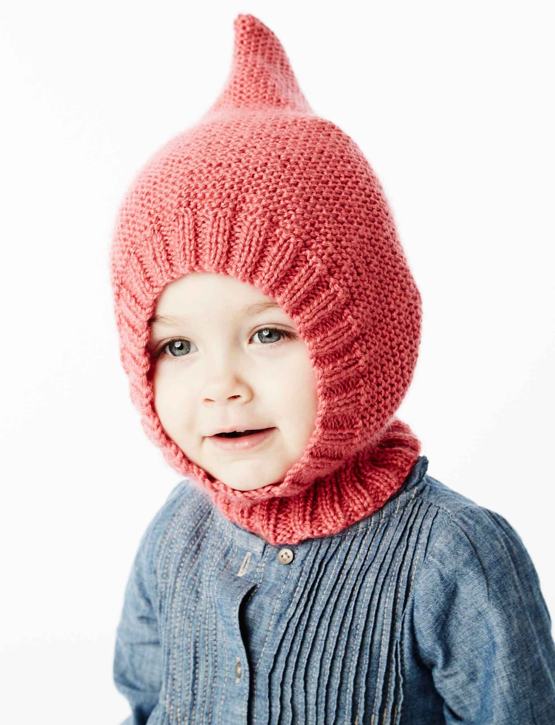 Knitting Pattern For Gnome Hat : Bernat Little Gnome Hat, Knit Pattern Yarnspirations