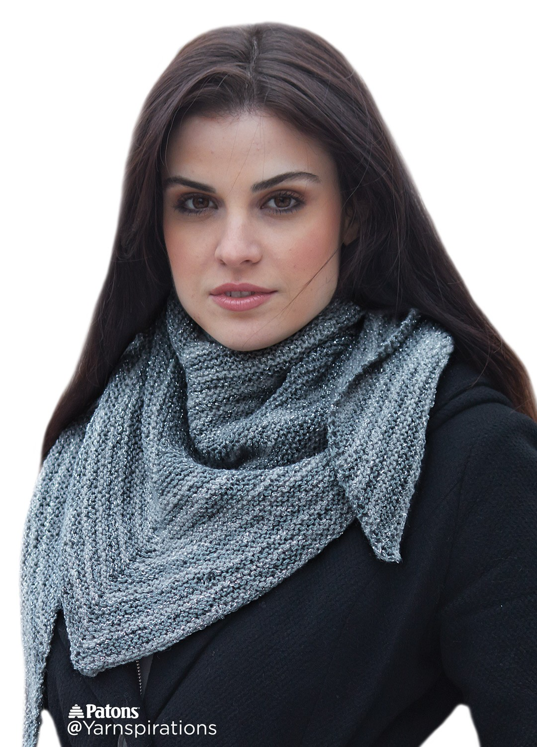 Asymmetrical Knit Shawl