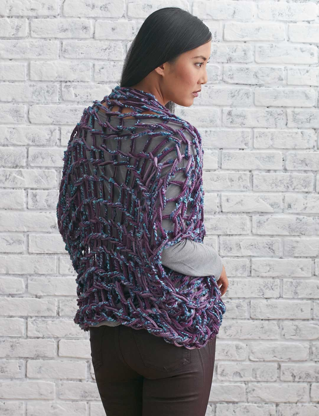 Arm Knit Shrug