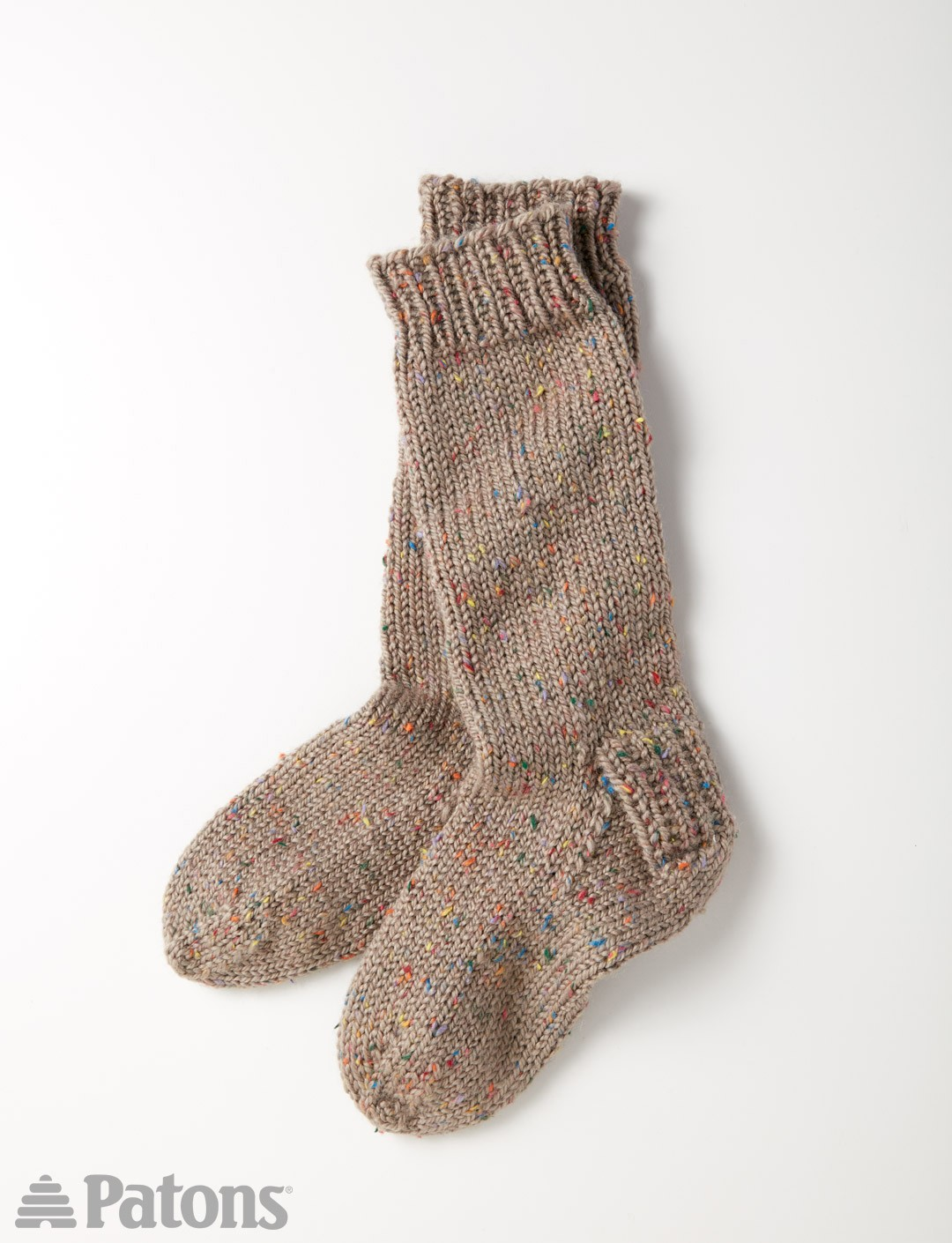 Patons Slouchy Socks, Knit Pattern Yarnspirations