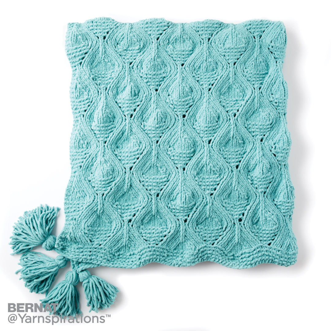 Diamond in the Rough Knit Blanket