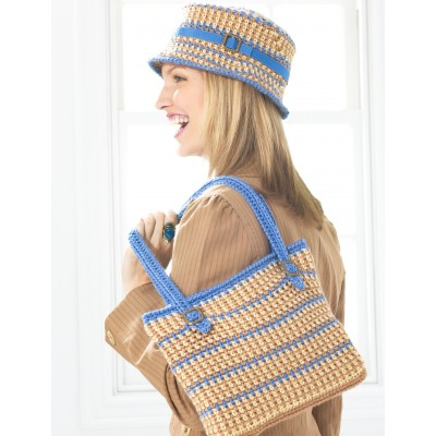Bucket Hat and Bag - Blue Version