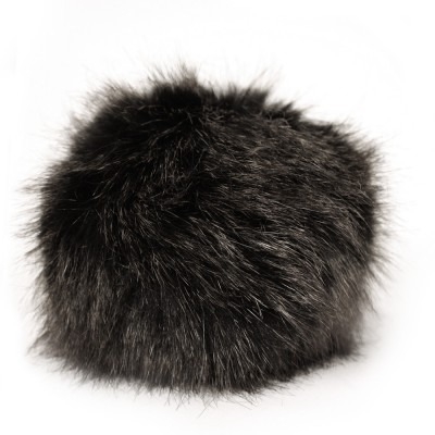 Faux Fur Pompom Holiday