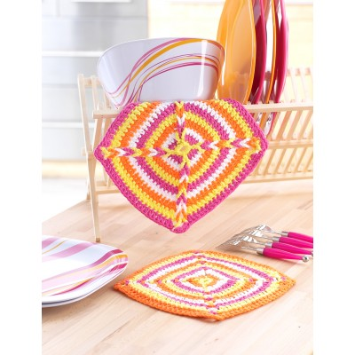 Beginner Dishcloth Crochet Patterns Yarnspirations