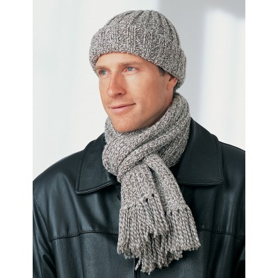 Men's Hat and Scarf