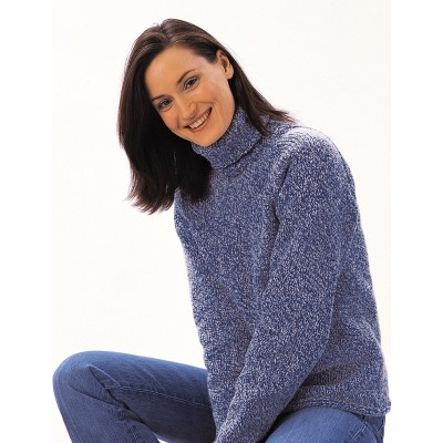 Knitting Patterns Womens Turtleneck Sweaters : Womens Sweater Knitting Patterns Yarnspirations