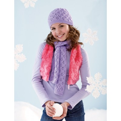 Lace Hat and Scarf