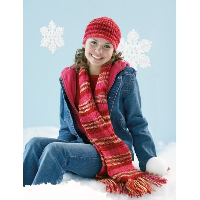 Shaker Hat and Scarf