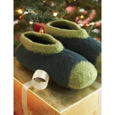 Felted Family Slippers