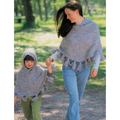 Just Me and Mom Ponchos