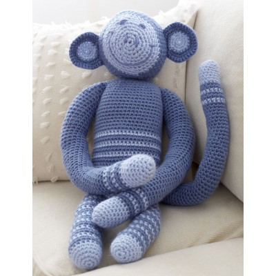 Crochet Monkey - Decor