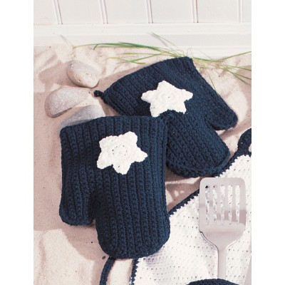 Star Oven Mitts