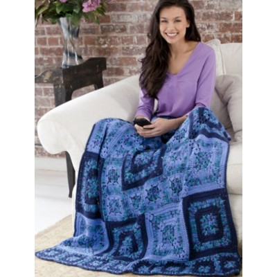 Bold Blues Throw