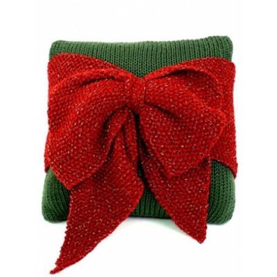 Christmas Bow Pillow