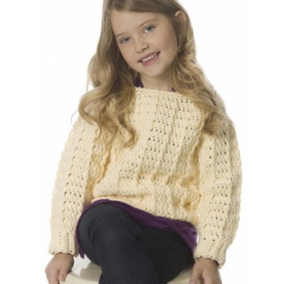 Child's Retro Ribbed Pullover