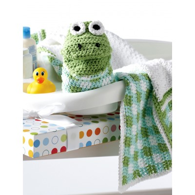 Gingham and Frog Set