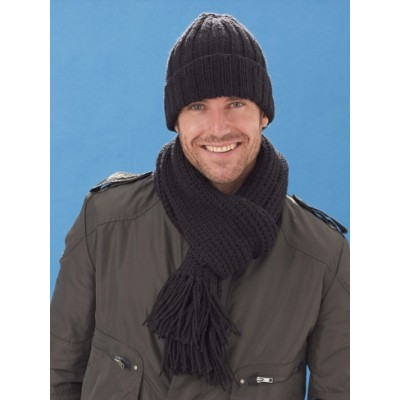 Men's Basic Hat & Scarf