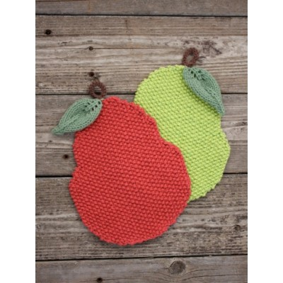 Pear-y Nice Dishcloth