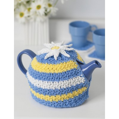 Daisy Motif Tea Cozy