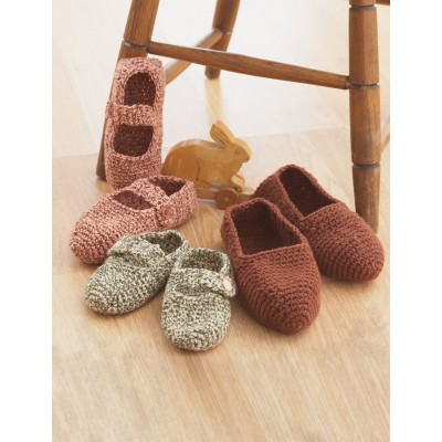 Family Slippers to Crochet