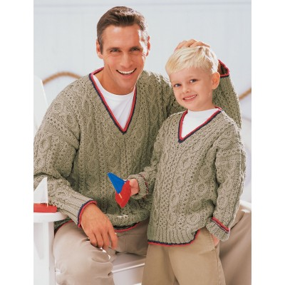 Our Guys' Sailing Sweaters