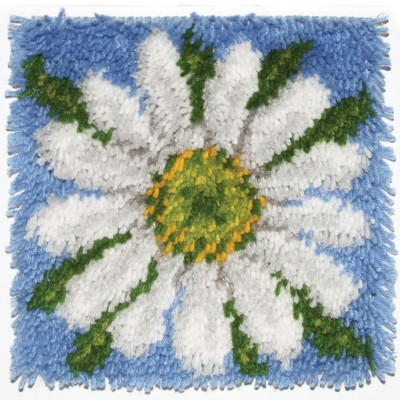 "Wonderart Latch Hook Kit 12""x12"" Daisy"