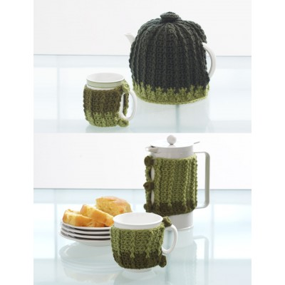 Coffee Tea or Me Crochet Sets