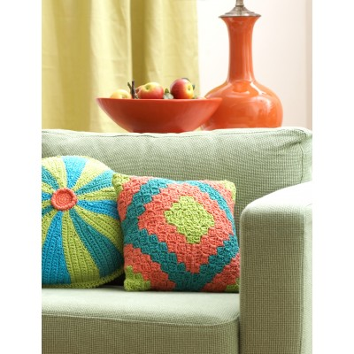 Diamond Motif Pillow