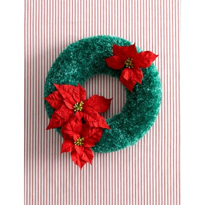 Holidays Christmas Wreath to Crochet