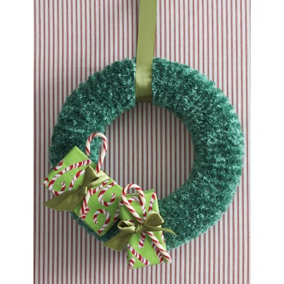 Holidays Christmas Wreath to Knit