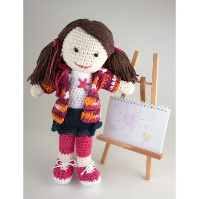 Back to School Lily Doll