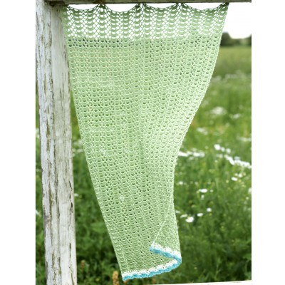 Shell Stitch Curtain Panel