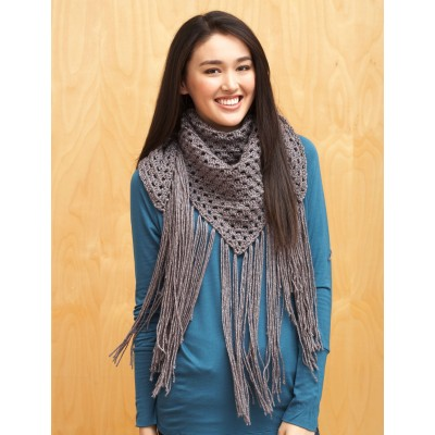 Big Fringe Triangle Scarf